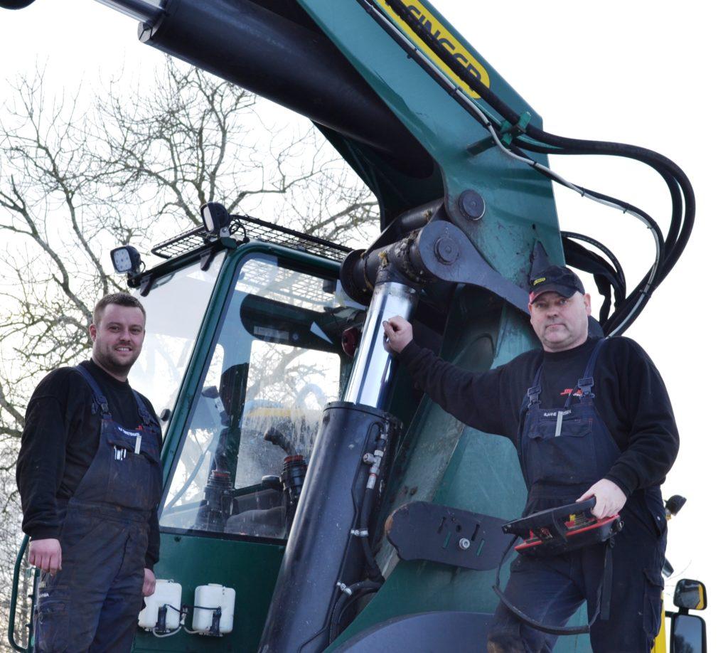 Stiholt Hydraulic Nørre Aaby - vi har over 20 års erfaring i servicering og reparation af Palfinger kraner