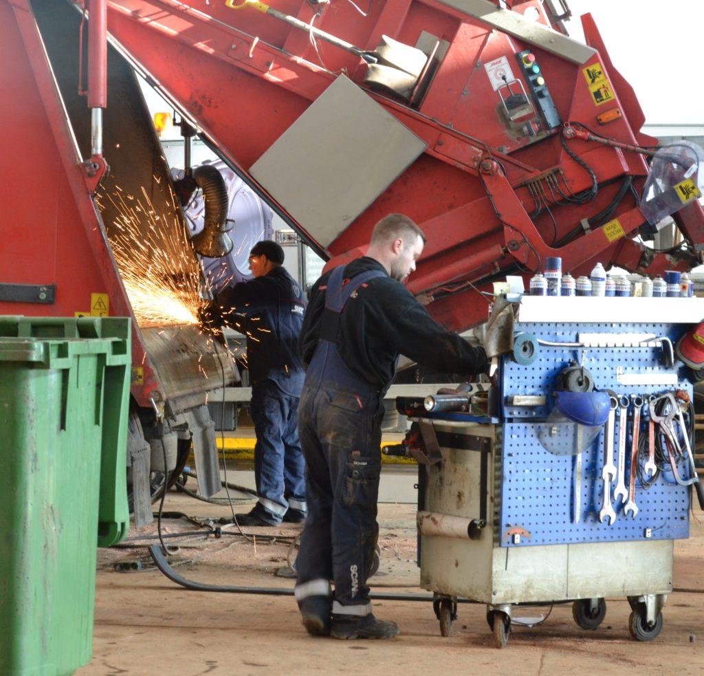 Vi reparerer og servicer NTM aggregater